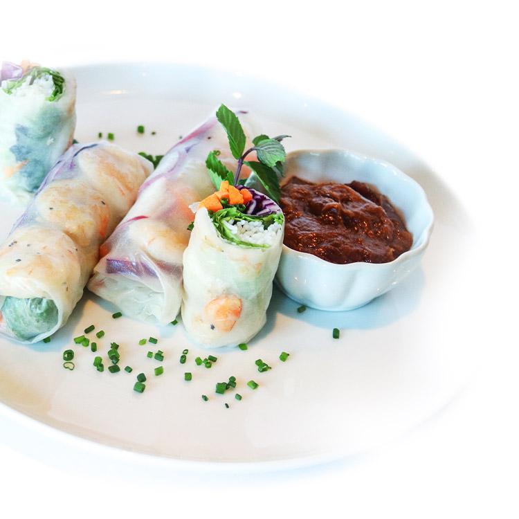 Vietnamese Shrimp Wraps